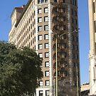 Weird shaped building in San Antonio by billiebowler