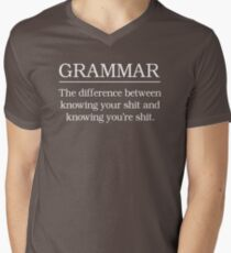 Grammar. Know your shit T-Shirt