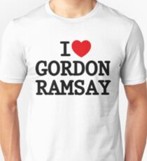 I Heart Gordon Ramsay Unisex T-Shirt