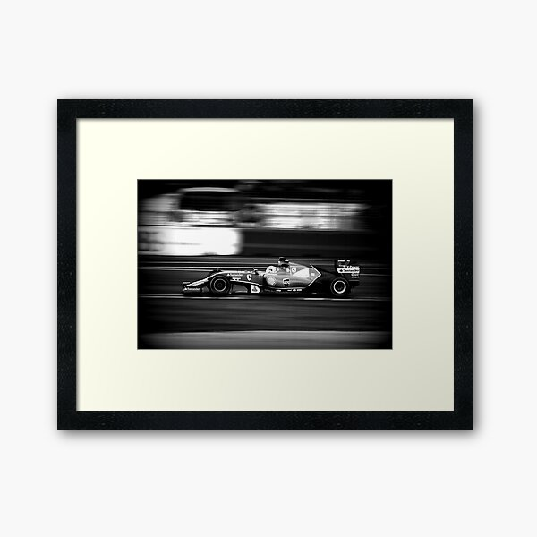 F1  Framed Art Print