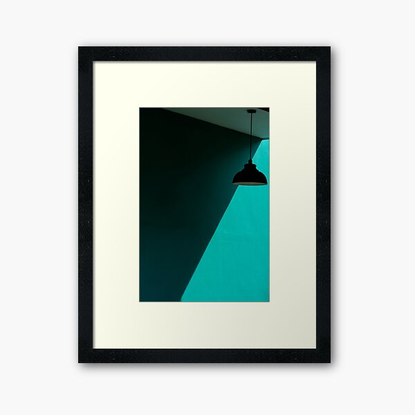 Cyan at Tanjong Katong Framed Art Print