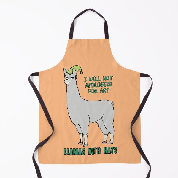 Llamas With Hats: Carl Apron