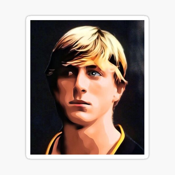 Johnny Lawrence Cobra Quay Sticker
