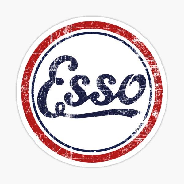 Logo rétro Esso Sticker