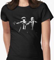 Pulp Cowboy Women's Fitted T-Shirt
