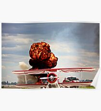 Airshow Explosion  Poster