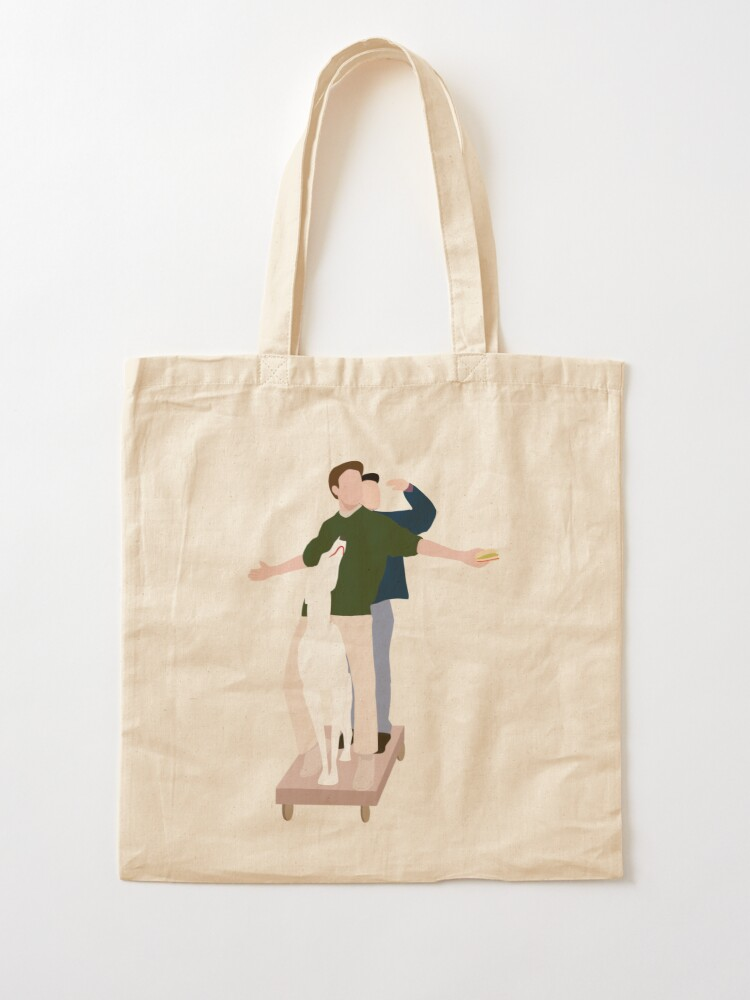 Alternate view of The Men are here Tote Bag