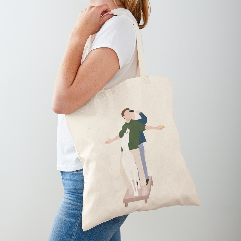 The Men are here Tote Bag