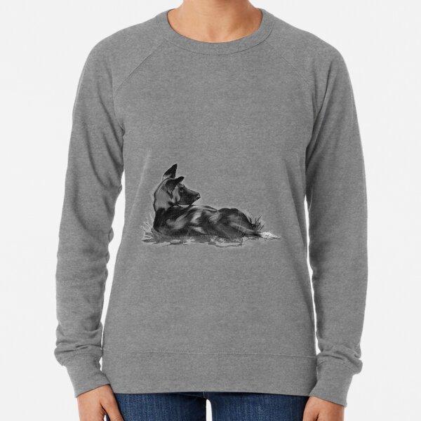 African Painted Dog Lightweight Sweatshirt
