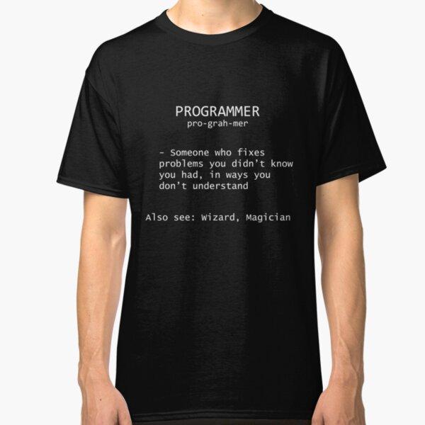 Programmer Definition Classic T-Shirt