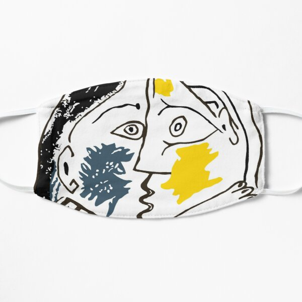 Pablo Picasso The Kiss 1979 Famous Painting Picasso Artwork Reproduction  Mask