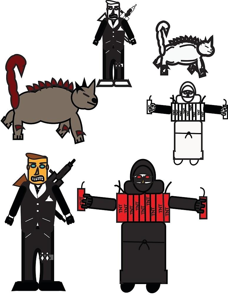 character wheel  by JGilCervantes
