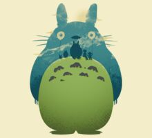 Totoro's Day Out | Organic T-Shirt