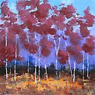 Red Trees by Matt Jenneson