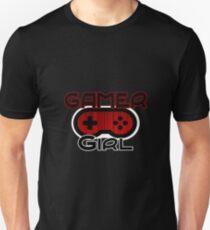 Red Gamer Girl T-Shirt