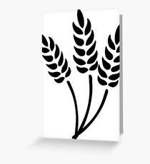 Wheat Greeting Card