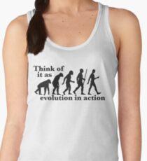 Evolution in Action Women's Tank Top