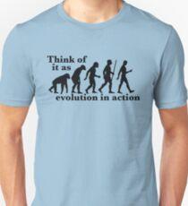 Evolution in Action Unisex T-Shirt