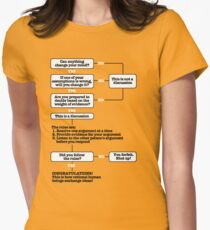 A Logical Argument Women's Fitted T-Shirt