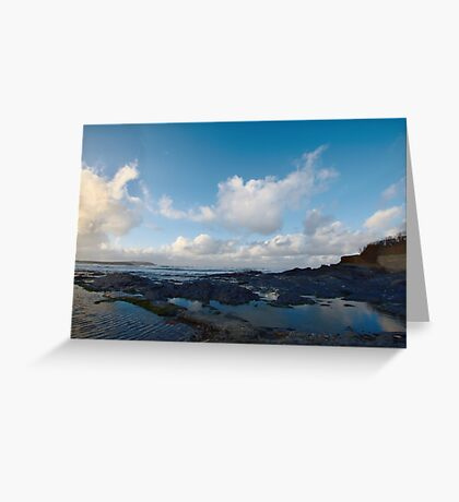 Newtrain Bay - Cornwall Greeting Card