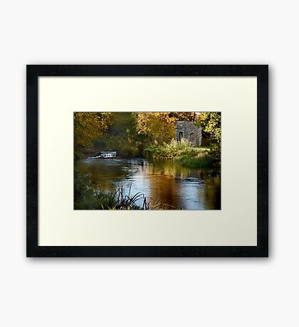Autumn Refuge Framed Print