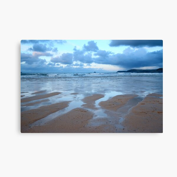 Evening at Harlyn Bay Canvas Print