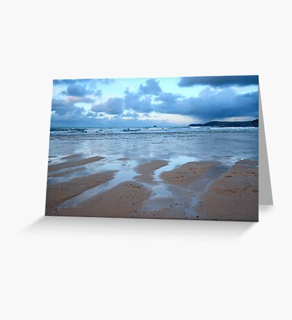 Evening at Harlyn Bay Greeting Card