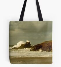 Surf Splash - Trevone Bay - Cornwall Tote Bag