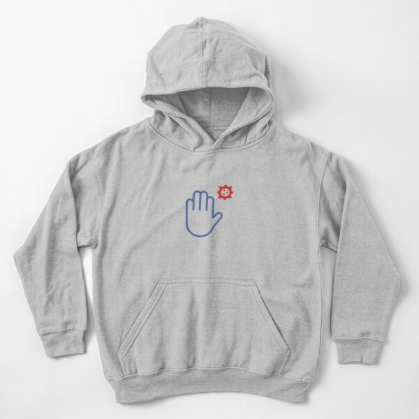 maintain distance Kids Pullover Hoodie