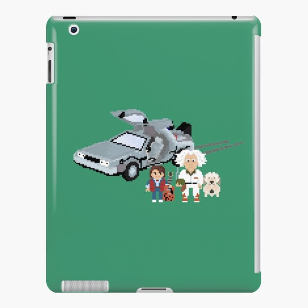 Doc and Marty Pixel Adventures iPad Snap Case