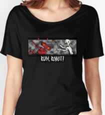 Run, Robot! Women's Relaxed Fit T-Shirt