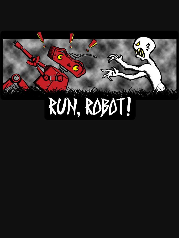 Run, Robot! | Unisex T-Shirt