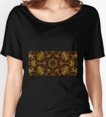 Golden Light and Shadow Women's Relaxed Fit T-Shirt