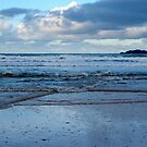 Evening at Harlyn Bay - Cornwall by Samantha Higgs