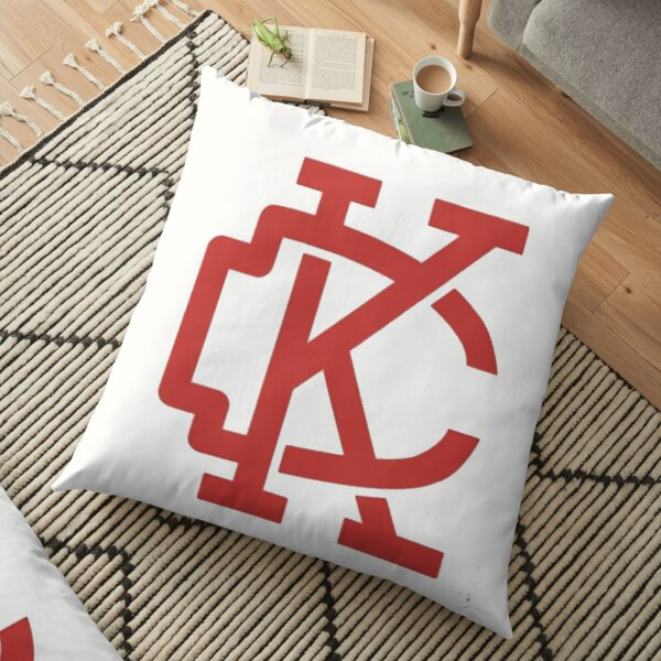 KC Arrow Gold  Floor Pillow