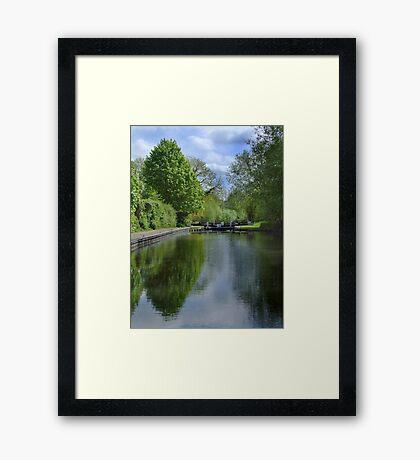 Greenham Lock - Newbury Framed Print