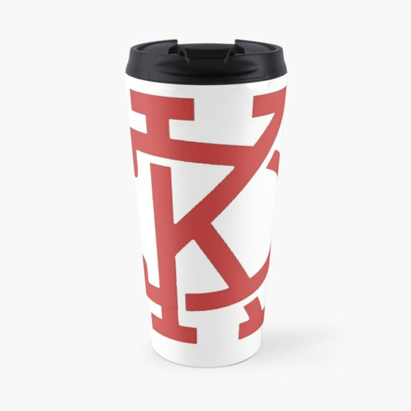 KC Arrow Gold  Travel Mug