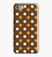 dotted colorful background iPhone Case/Skin
