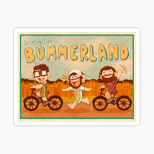 Greetings from Bummerland! Sticker