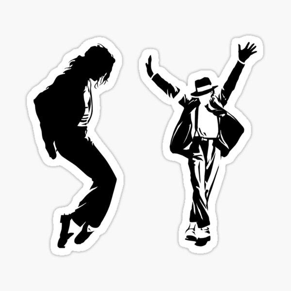 Meilleure vente Micheal Jackson B&W Art. Sticker