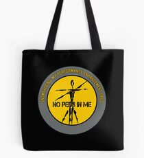 Snowshoeing - My Performance Enhancement Drug Tote Bag