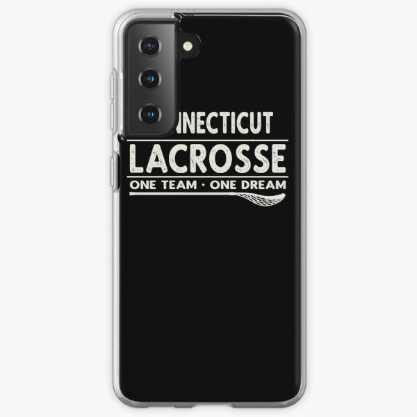 Connecticut Lacrosse One Team One Dream Samsung Galaxy Soft Case