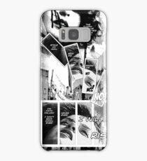 Faith Fallon Graphic Novel Page © Steven Pennella Samsung Galaxy Case/Skin