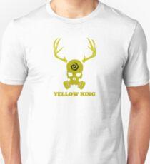 True Detective - Yellow King Gas Mask - Yellow T-Shirt