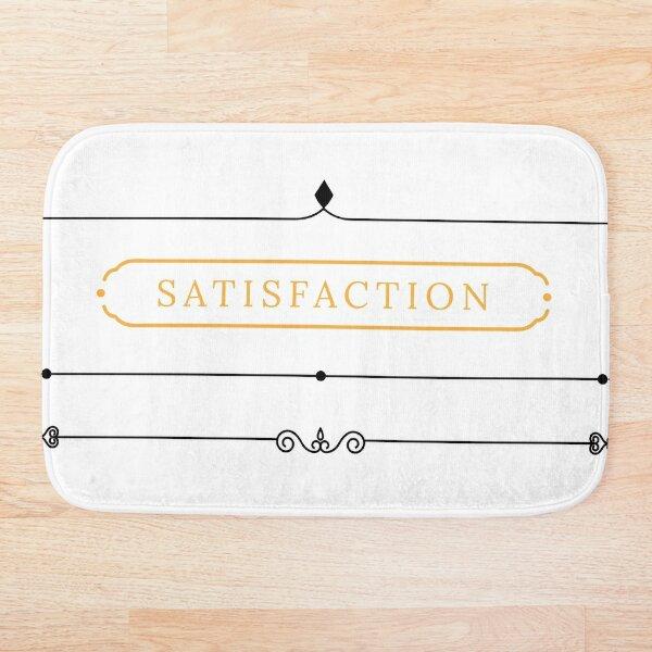 satisfacción Alfombra de baño