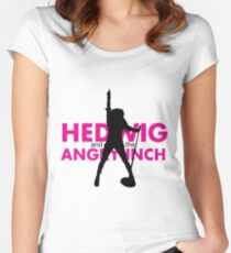 HEDWIG AND THE ANGRY INCH Women's Fitted Scoop T-Shirt