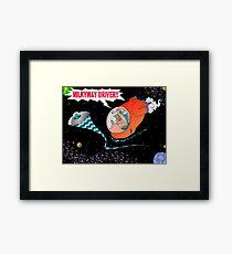 Milkyway Driver! Framed Print