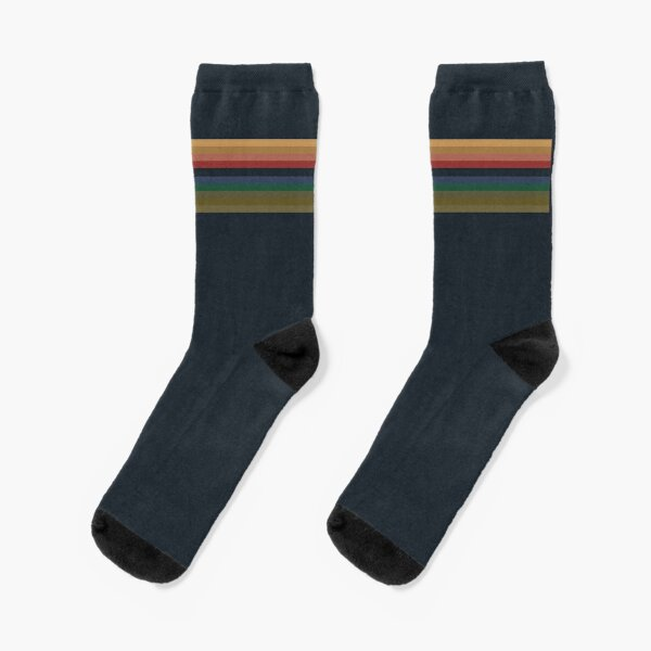 13th Doctor Pattern - Doctor Who Socks