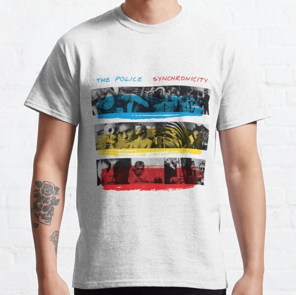 Synchronicité - La police T-shirt classique