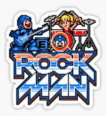 Rock, Man! Sticker